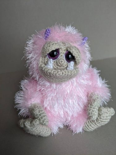 Amigurumi Crochet Gremlin Pattern Crafters Review for Cottontail and Whiskers by Emma Urquhart