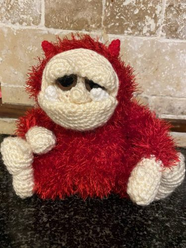 Amigurumi Crochet Gremlin Pattern Crafters Review for Cottontail and Whiskers by Hannah Jones