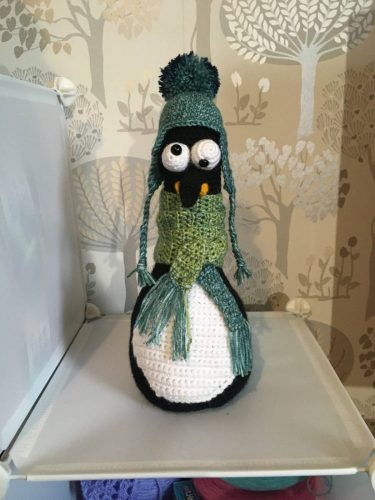 Cottontail Whiskers Crochet penguin pattern crafters review by Lisa Kinnear