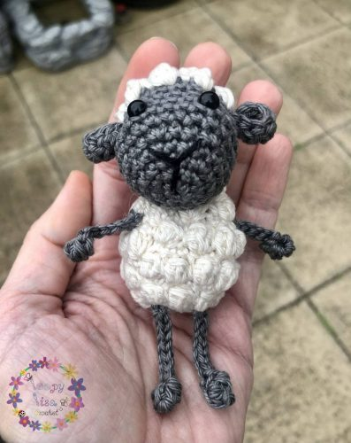 Cottontail Whiskers Crochet sheep pattern crafters review by Lisa Kinnear