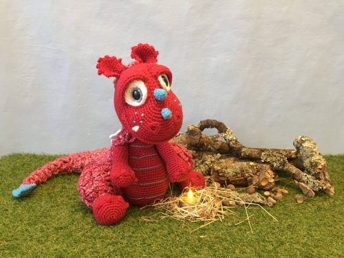 Cottontail & Whiskers Crochet Dragon doll Pattern Review by Hayley-Belle
