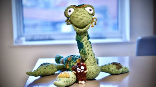 Loch ness monster haggis crochet pattern review for cottontail and whiskers by jude