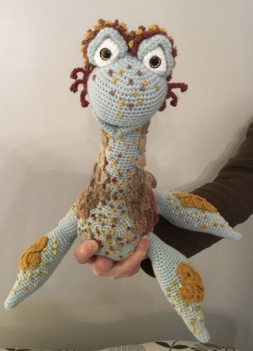 Nessie crochet pattern review for cottontail and whiskers by kim cartwright
